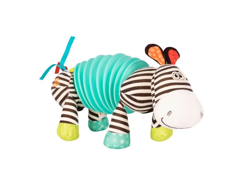 Tahací harmonika zebra Squeezy Zeeby 1