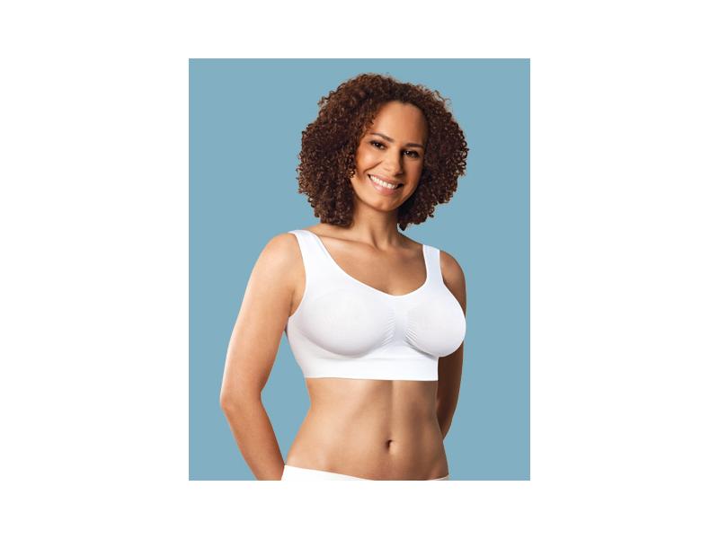 Carriwell Podprsenka těhotenská bezešvá bílá XL