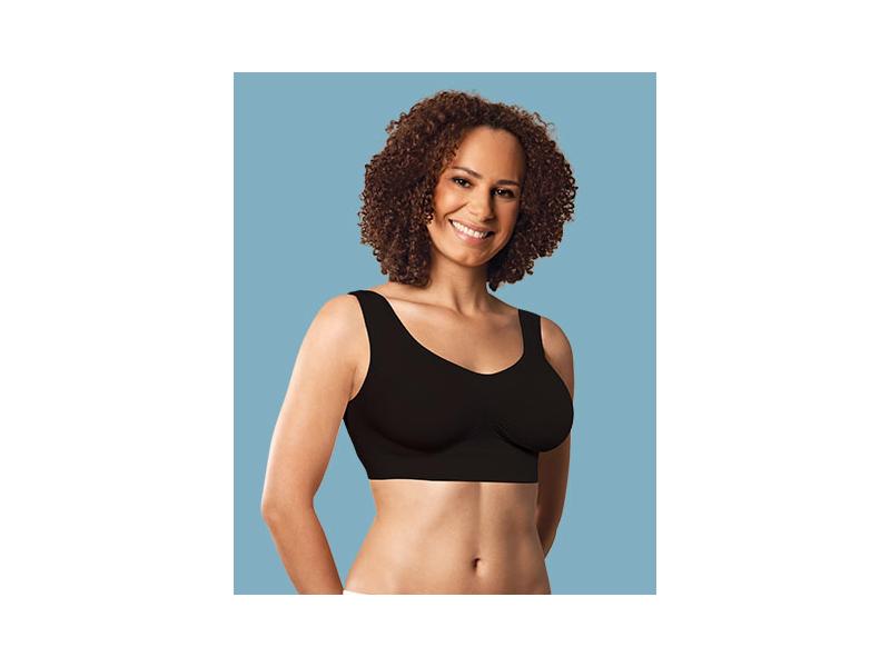 Carriwell Podprsenka těhotenská bezešvá černá XL