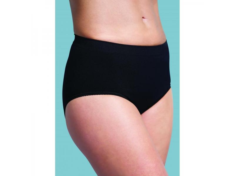 Kalhotky po porodu stahovací černé XL 1