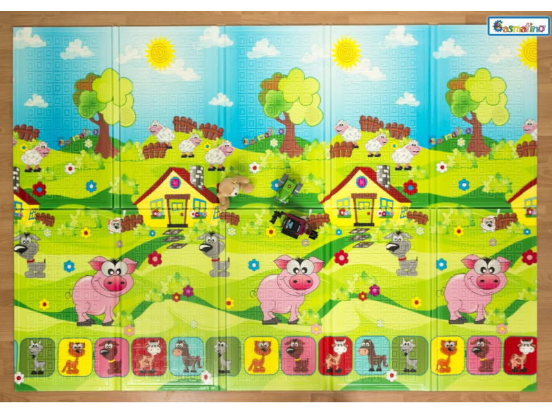 Dětská skládací podložka Piggy 1