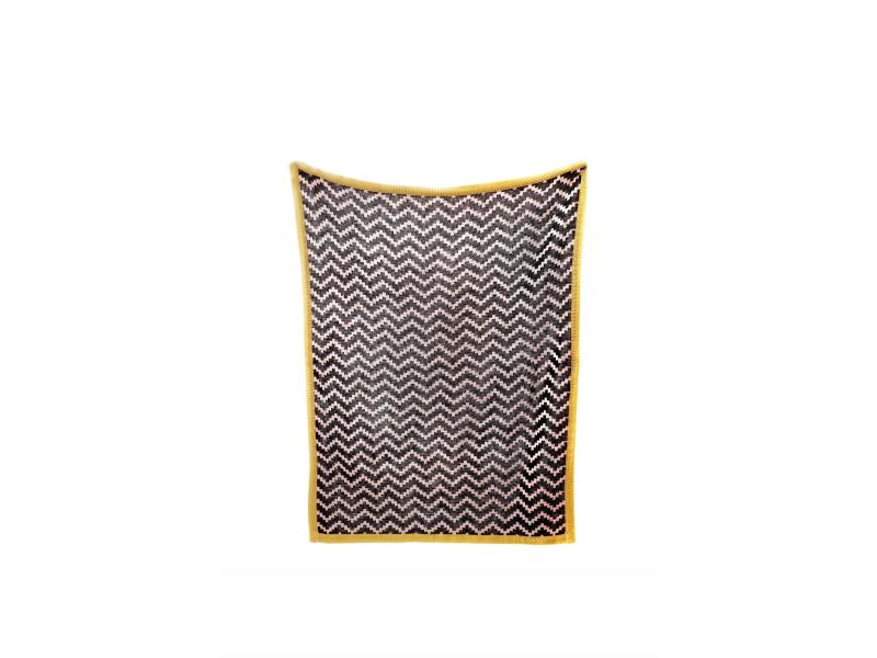 Pletená deka Chevrons 1