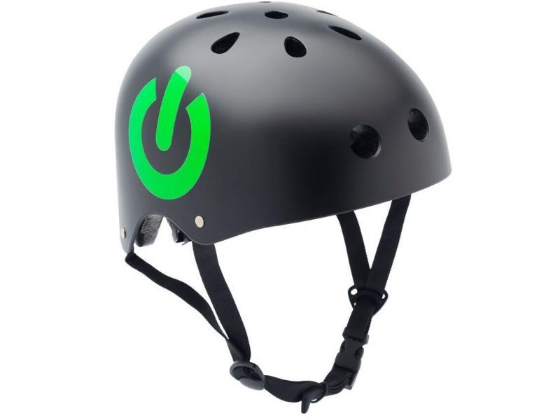 CoCoNuts Dětská helma ČERNÁ -ON/OFF, velikost M
