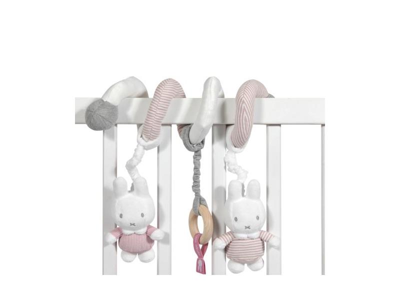 Spirála miffy pink babyrib 1