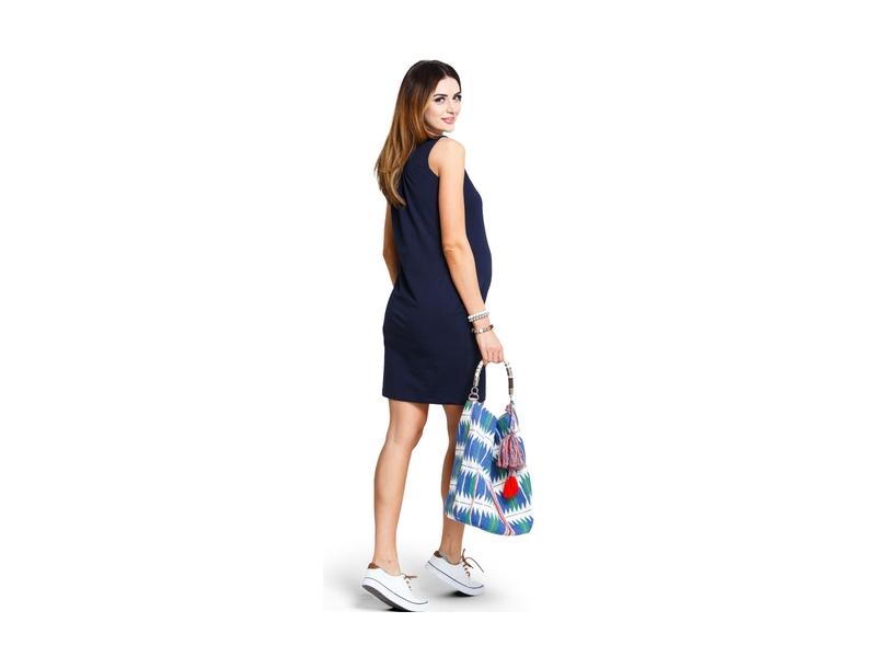 Těhotenské šaty Lemonade navy dress M 3 7bffa0eabc