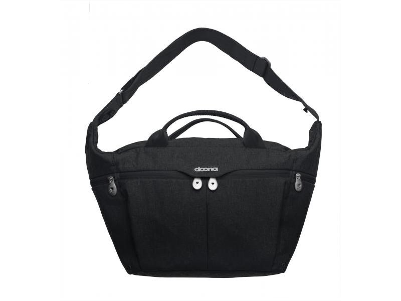 Doona Celodenní přebalovací taška PLUS, Black
