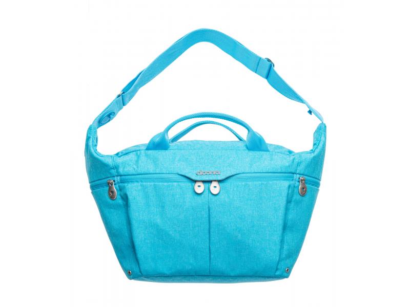 Celodenní přebalovací taška PLUS, Turquiose 1