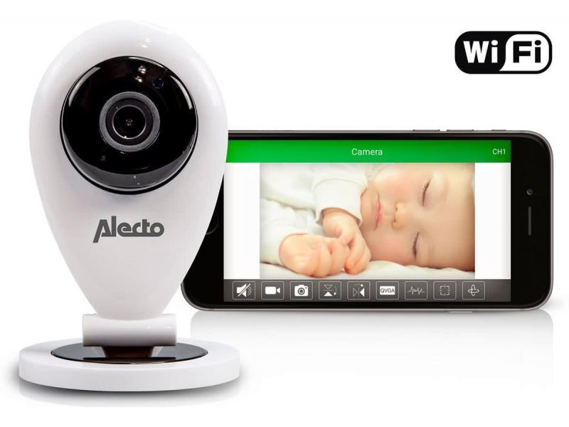 ALECTO Wi-fi dětská chůvička - kamera