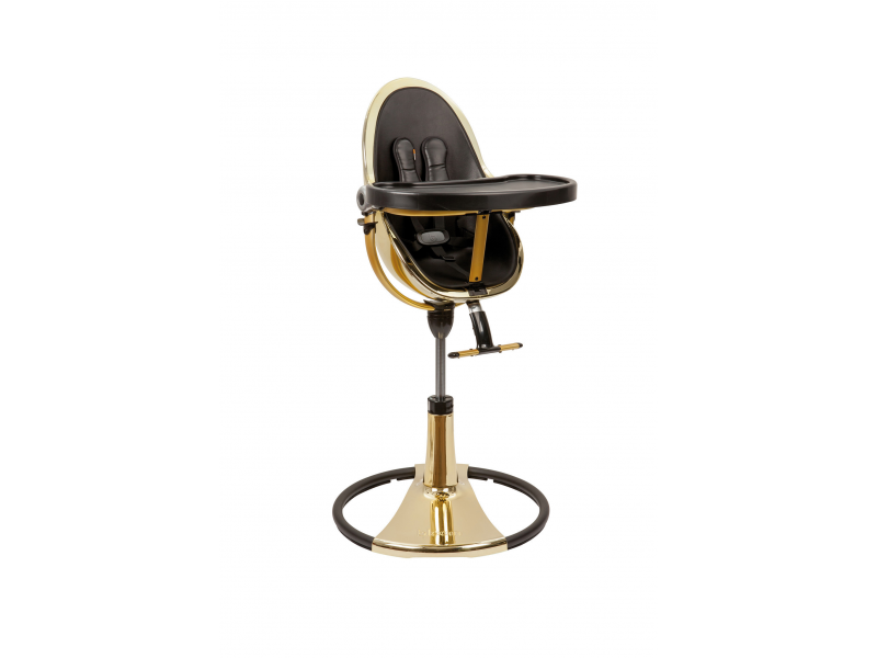 Židlička Fresco Chrome GOLD YELLOW (special luxury edition), bez podložky 1