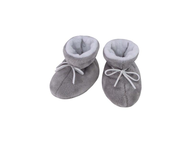 Kojenecké botičky Minky Teddy | bílá 1. ( 2 - 5 měs.) 1