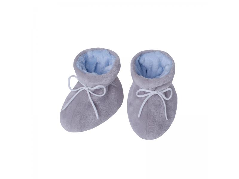 Kojenecké botičky Minky Teddy | modrá 1. ( 2 - 5 měs.) 1