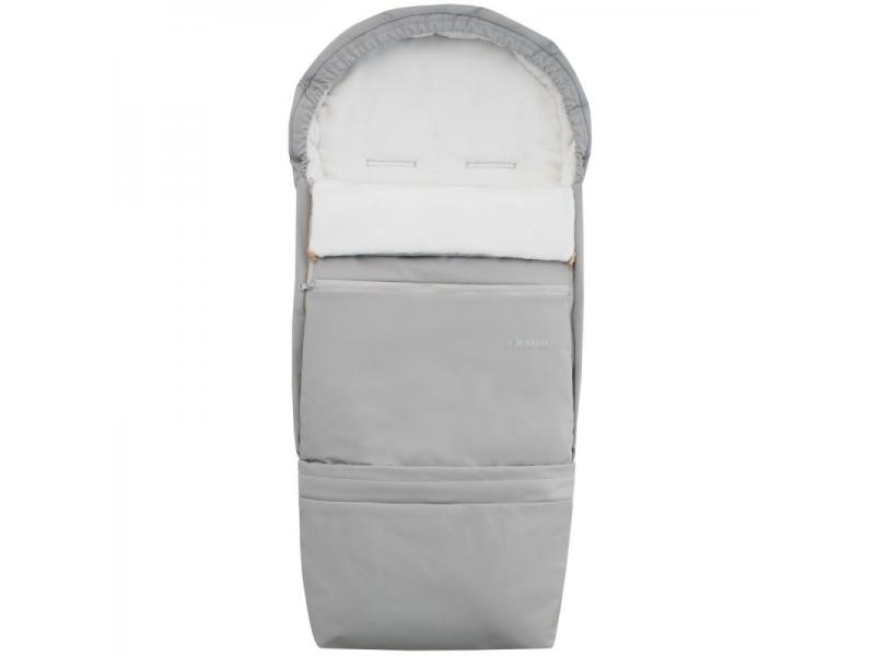 Fusak Soft 4v1 110x49 cm, šedá-bílá 1