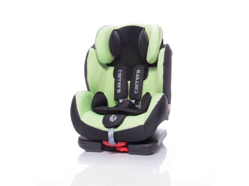 Zopa Autosedačka Carrera Fix černo/zelená ISOFIX