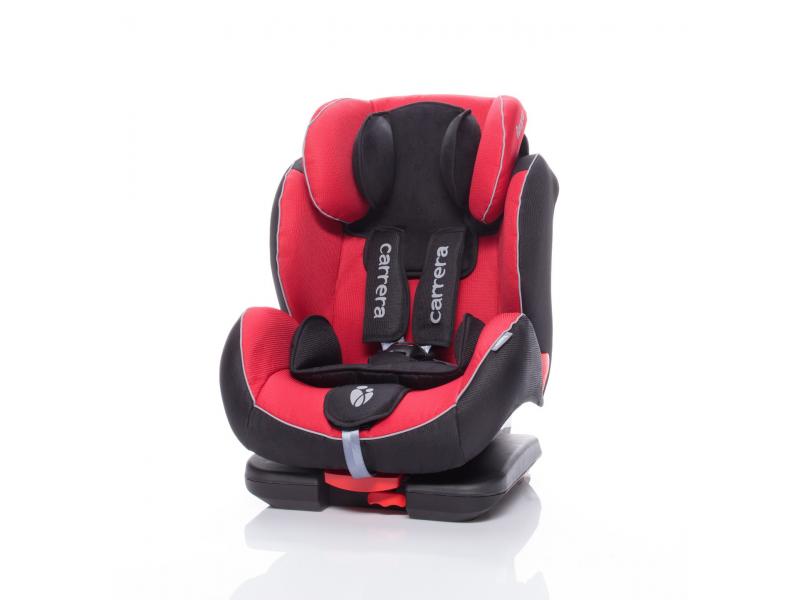 Zopa Autosedačka Carrera Fix černo/červená ISOFIX