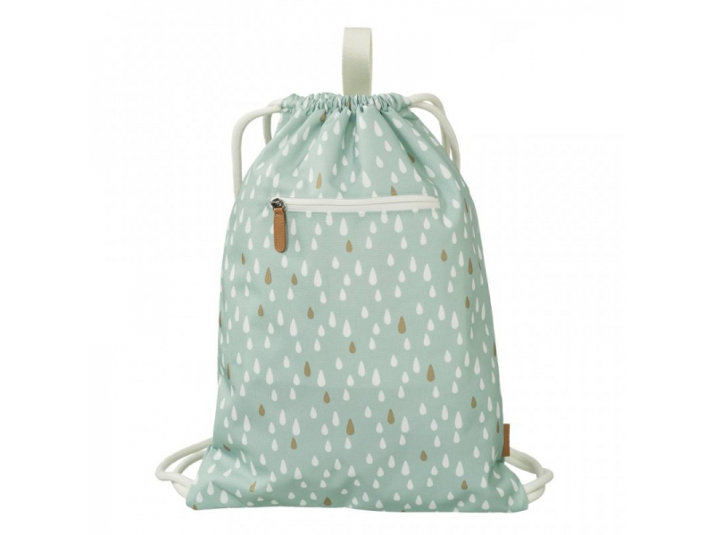 Swimming Bag, Drops Blue 1