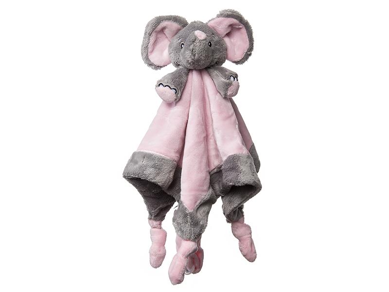 Levně My Teddy Můj první slon - muchláček, růžový