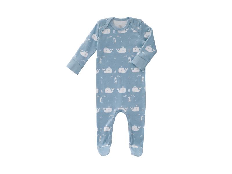 Overal Whale blue fog, newborn 1