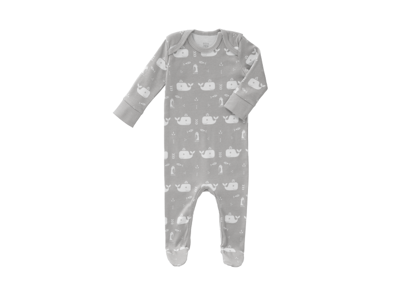 Overal Whale dawn grey, 0-3 m 1