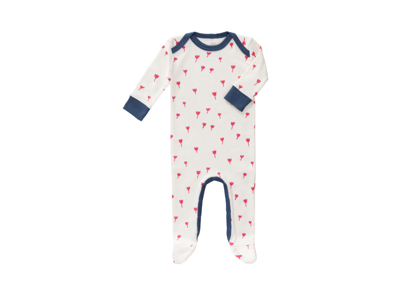 Overal Tulip red, 6-12 m 1