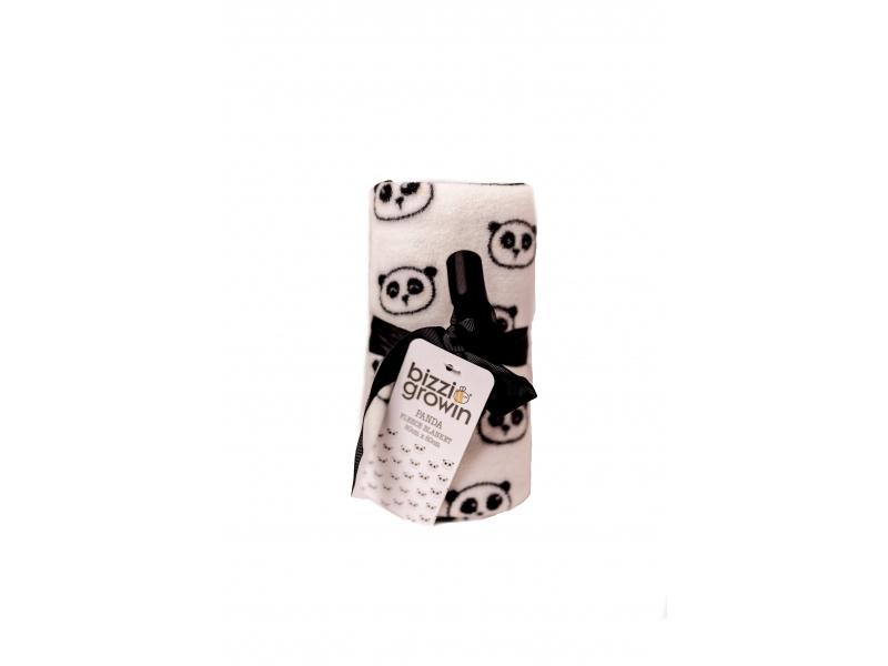 Tenká flísová deka Panda 1