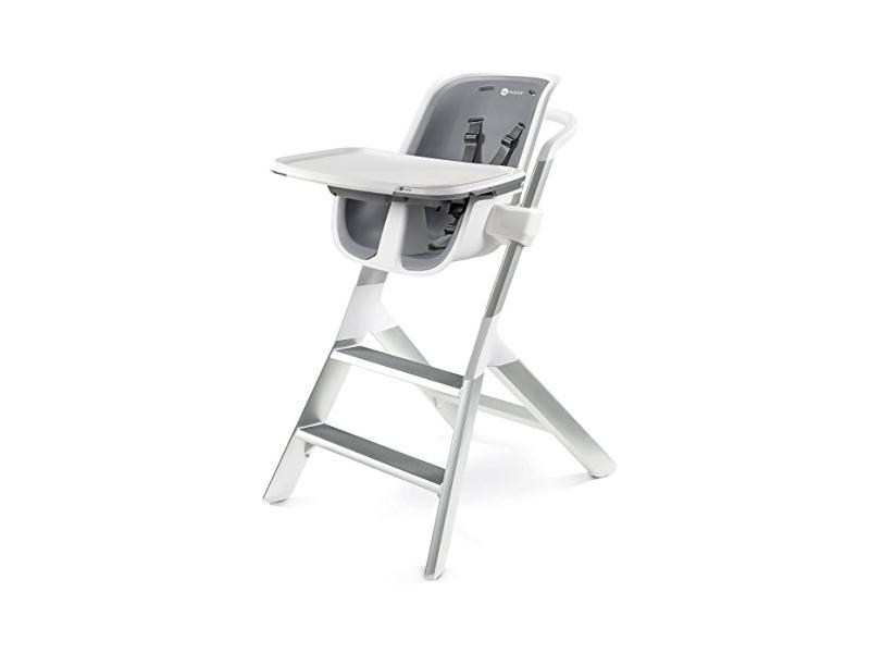 4moms Jídelní židlička bílá