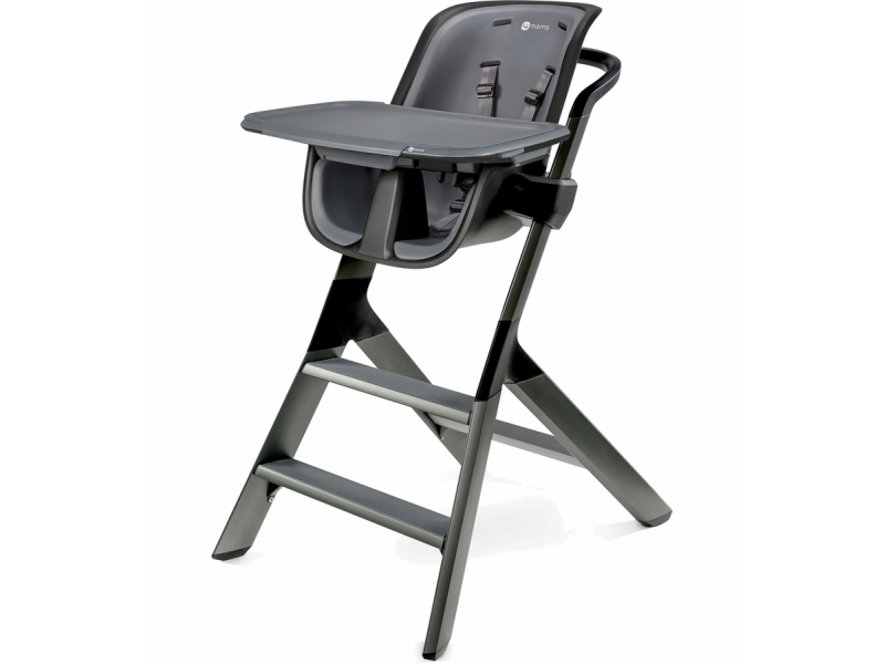 Jídelní židlička černá 1