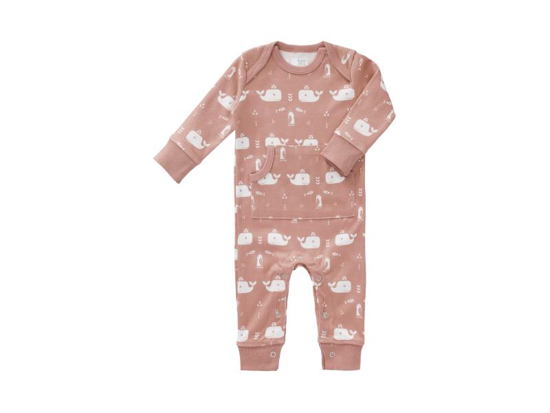 Dětské pyžamo Whale mellow rose, 0-3 m 1