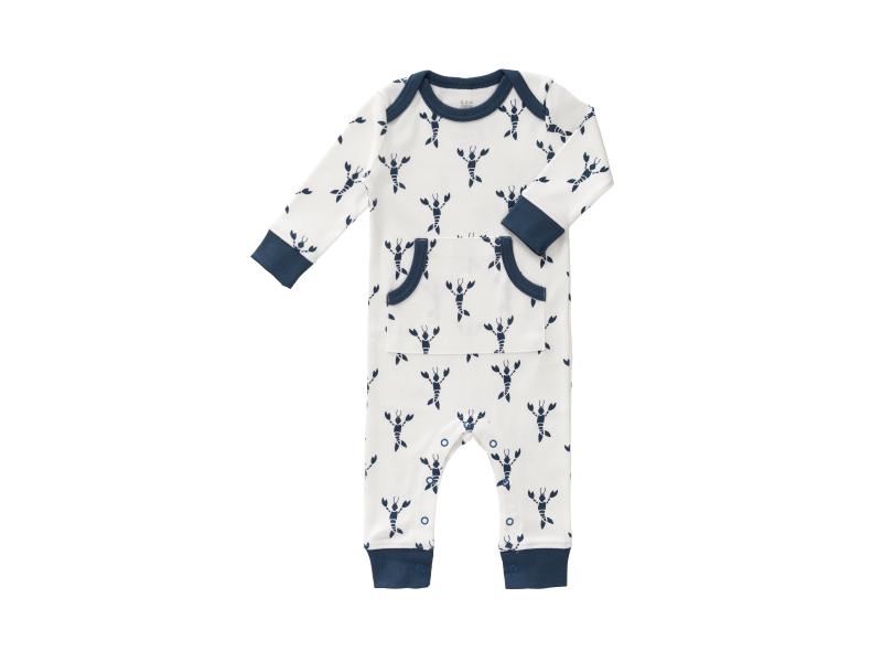 Dětské pyžamo Lobster indigo blue, 0-3 m 1