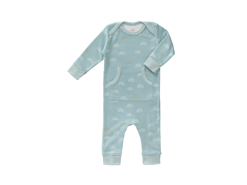 Dětské pyžamo Rainbow ether blue, newborn 1