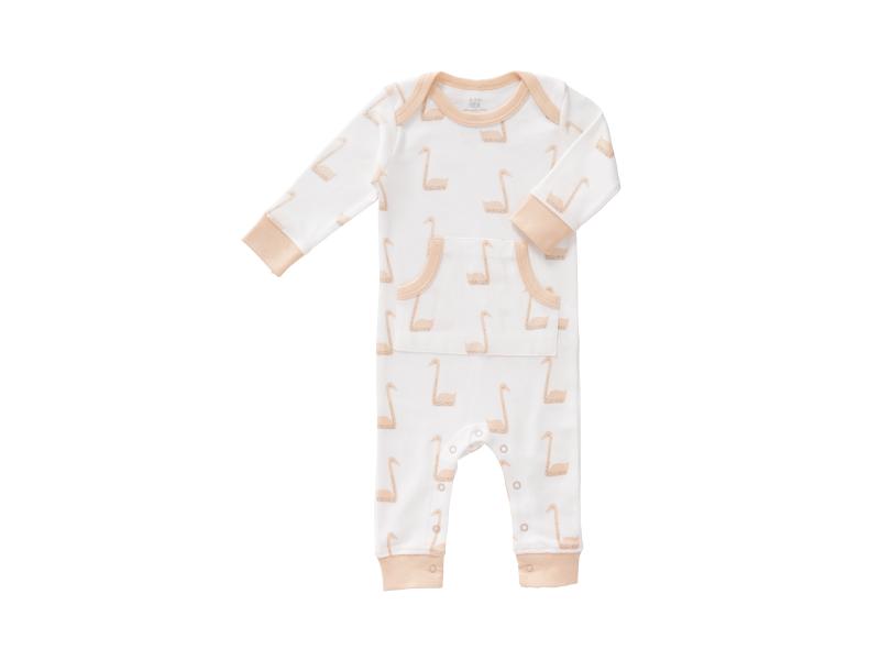 Dětské pyžamo Swan pale peach, 0-3 m 1