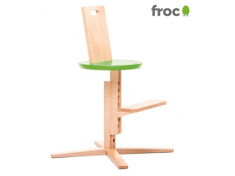 FROC Jídelní židle ZELENÁ