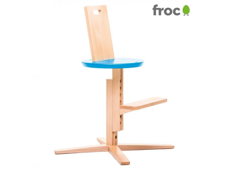 FROC Jídelní židle MODRÁ