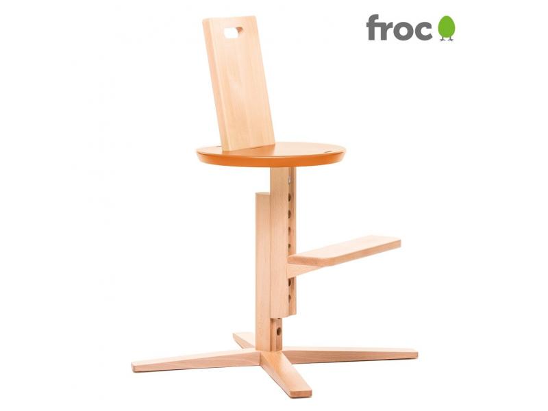 FROC Jídelní židle ORANŽOVÁ