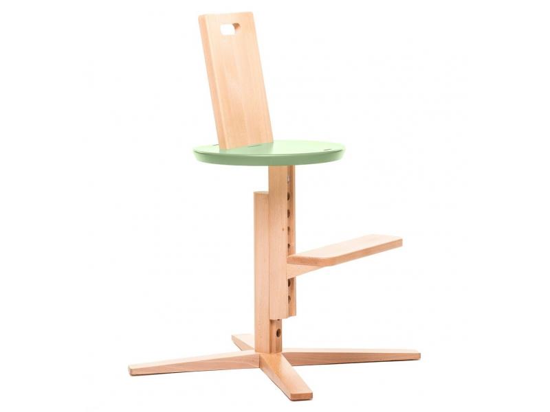 FROC Jídelní židle OLIVOVĚ ZELENÁ