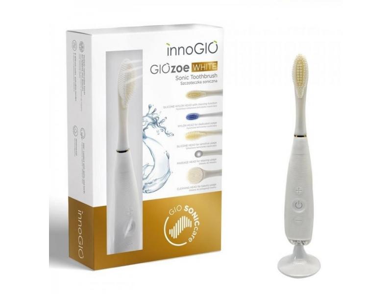 elektronický sonický zubní kartáček GIOZoe White 1