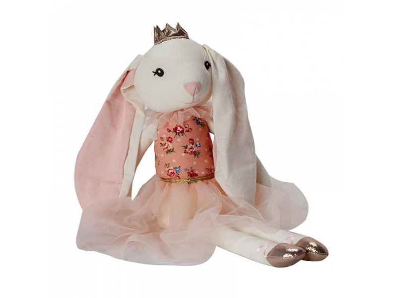 látková hračka BALLERINA Rabbit 48cm 1