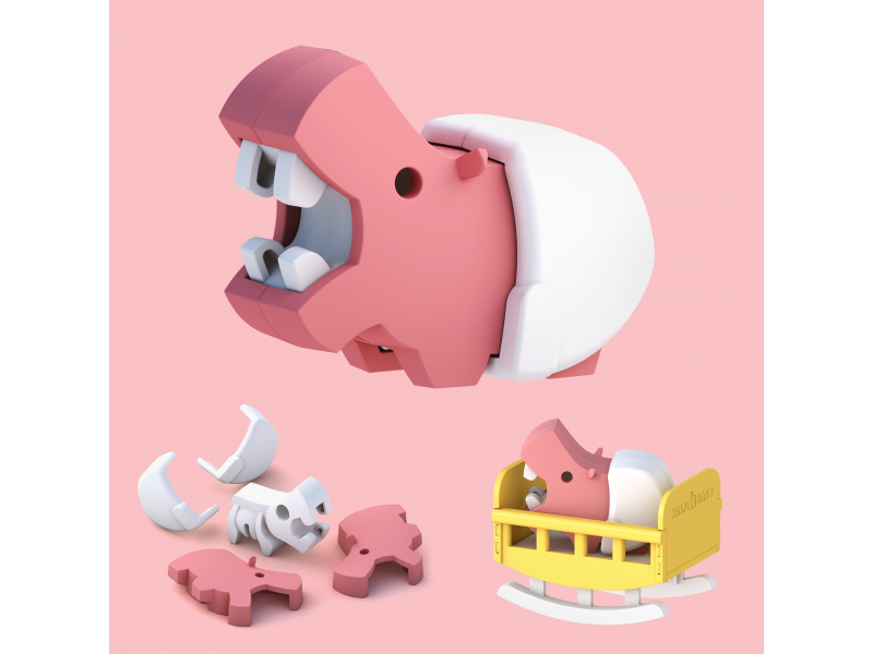 BABY HROCH - magnetická skládací hračka 1