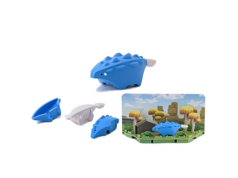 ANKYLO - magnetická skládací hračka s 3D modelem prostředí 1