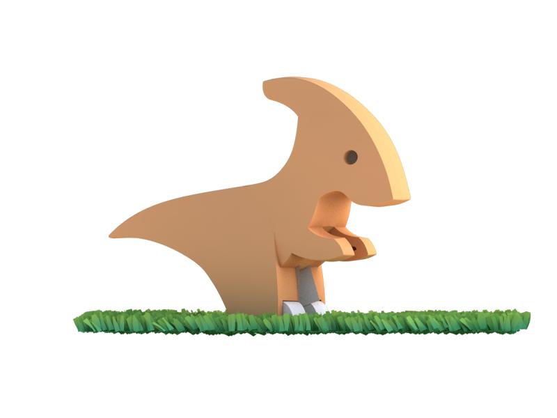 PARA - magnetická skládací hračka s 3D modelem prostředí 1