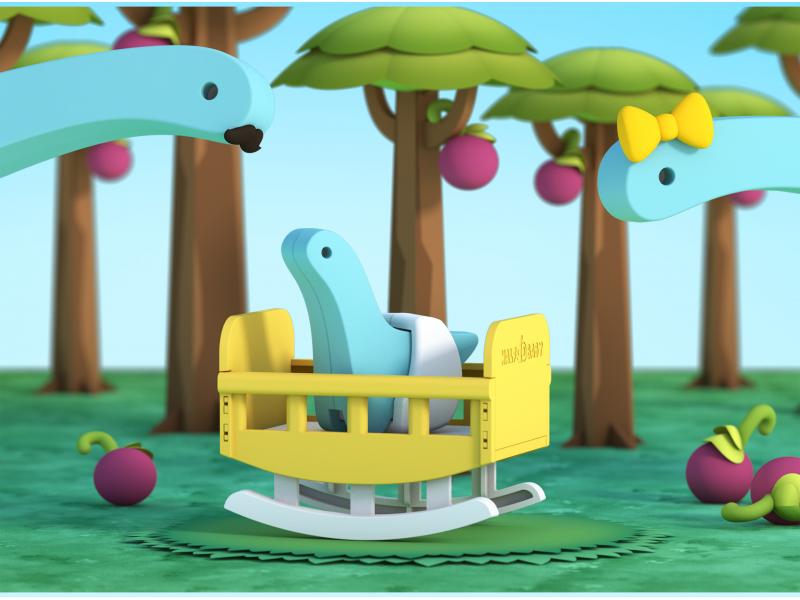 BABY DIPLO - magnetická skládací hračka 1