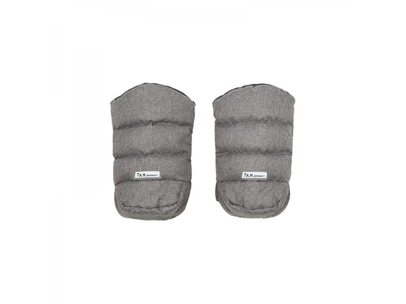 Rukavice na kočárek WarMMuff Heather Grey 1