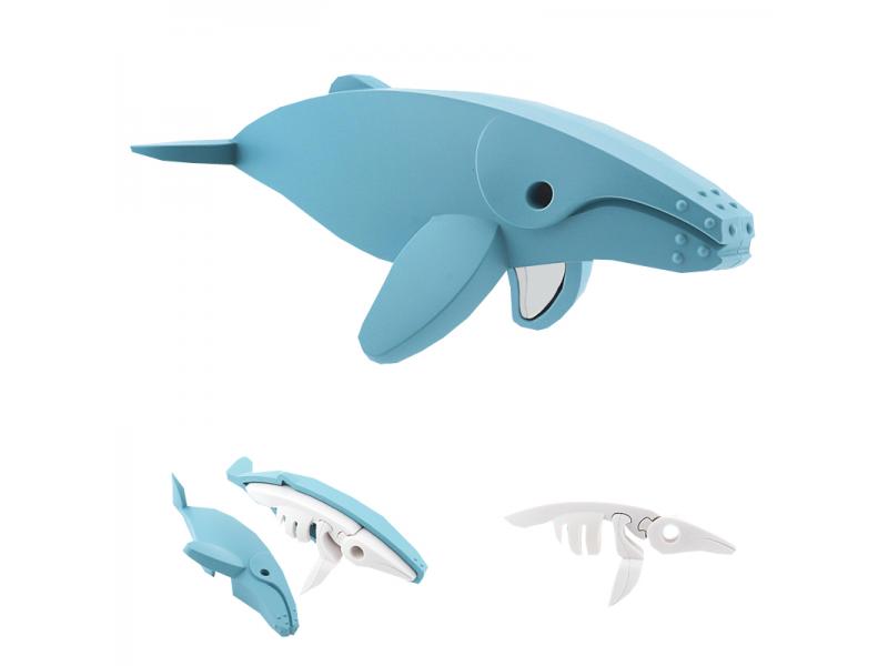 HALFTOYS KEPORKAK - magnetická skládací hračka s 3D modelem oceánu