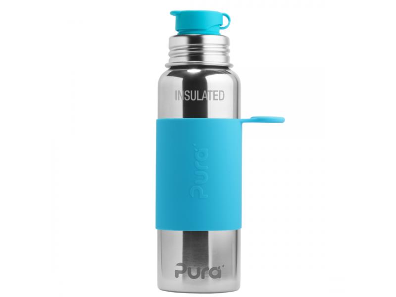 Pura TERMO láhev se sportovním uzávěrem 650ml - aqua