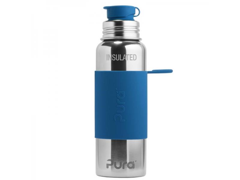 Pura Pura TERMO láhev se sportovním uzávěrem 650ml - modrá