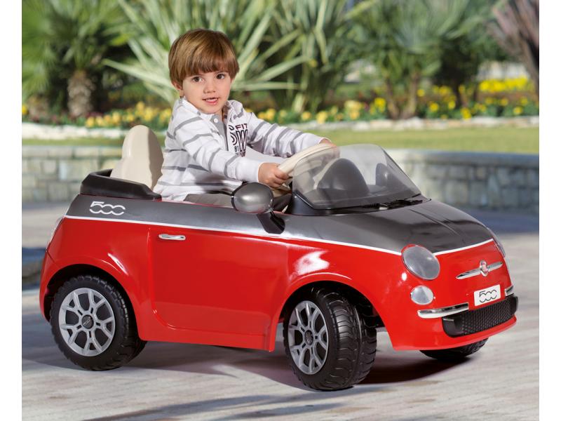 Peg Perego FIAT 500 RED (6V, 1 motor)