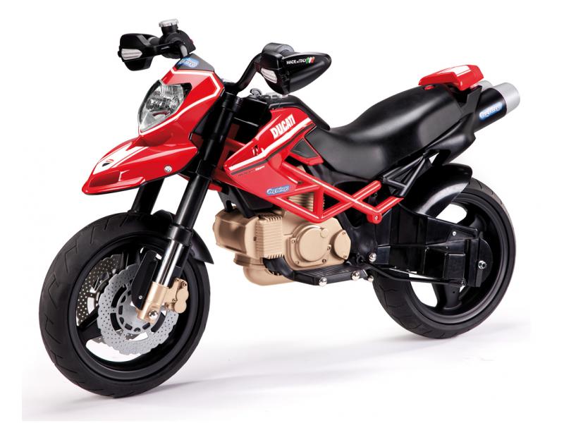 Peg Perego DUCATI HYPERMOTARD (12V, 2 motory)