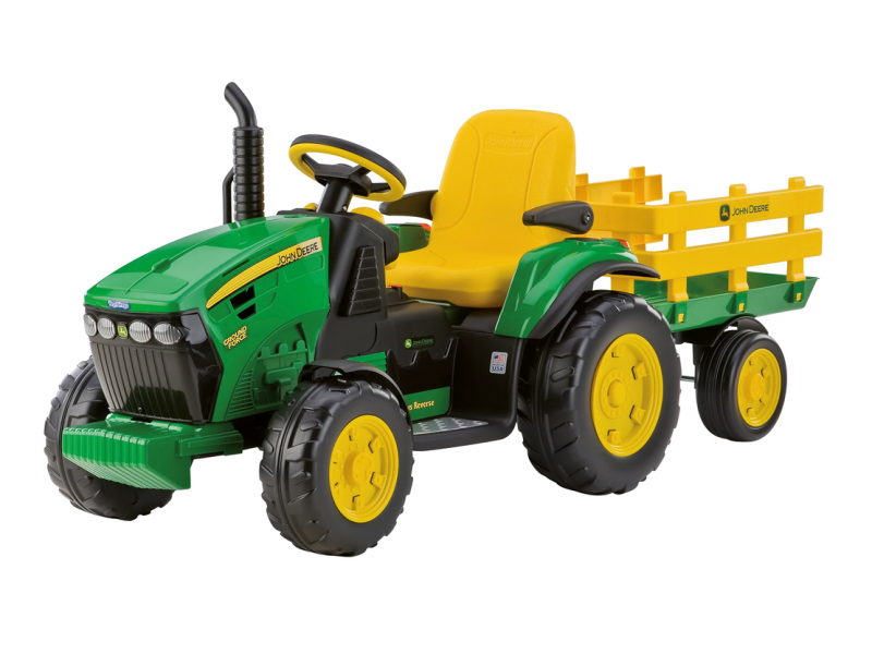 Peg Perego J.D.GROUND FORCE S VLEKEM (12V, 2 motory)