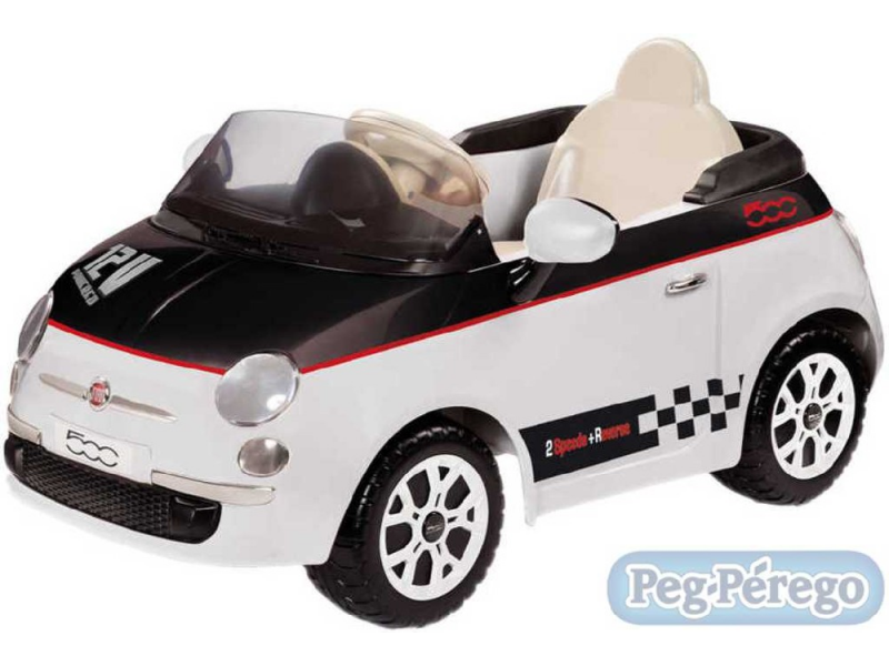 Peg Perego FIAT 500 (12V, 2 motory)