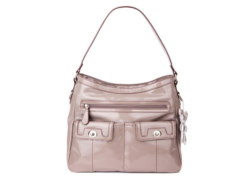 Il Tutto KATIE šedobéžová - kabelka pro maminky i přebalovací taška