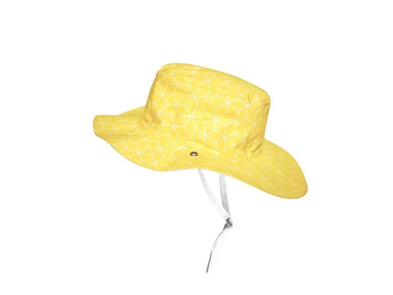 Ki ET LA Klobouček oboustranný s UV ochranou - 6-12 měsíců (45-47cm) - Cubic Sun